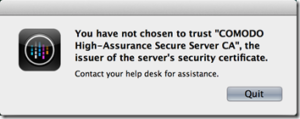 You-have-not-chosen-to-trust-COMODO-High-Assurance-Secure-Server-CA-the-issuer-of-the-servers-ce1
